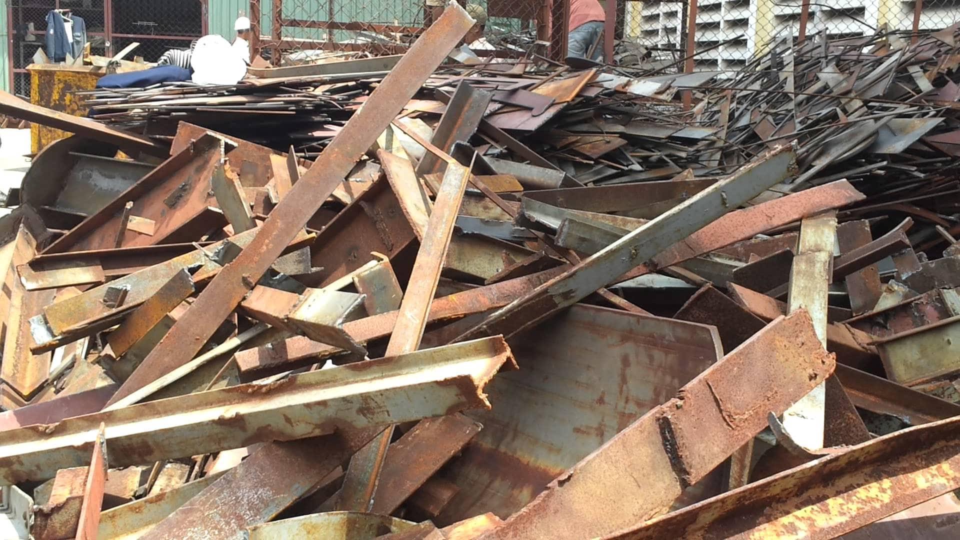 thu mua phế liệu sắt thép giá cao ở tphcm