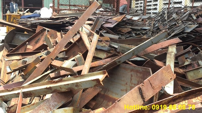 Thu mua sắt phế liệu số lượng lớn nhỏ tại Đồng Nai